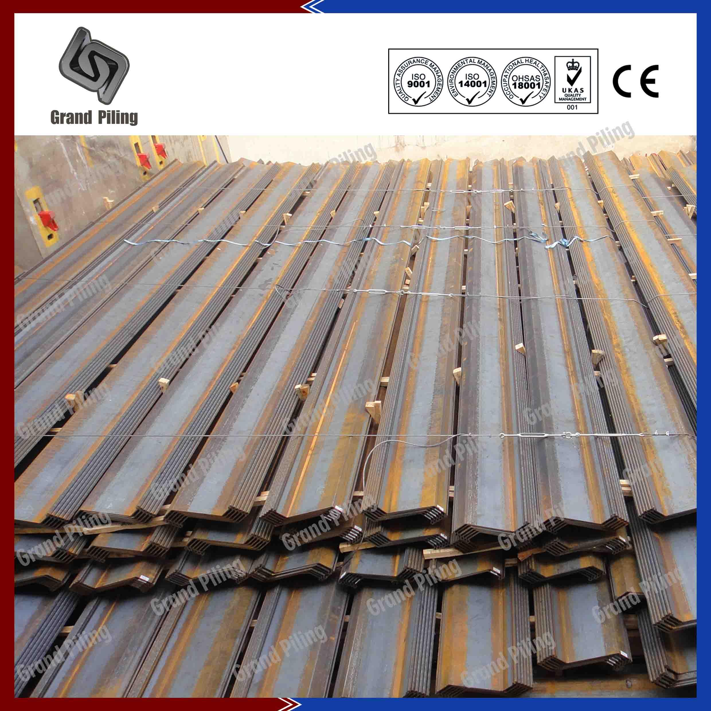 Stahlspundw 228 Nde Z Profile Spundwand Chinesische