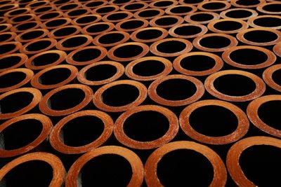 Rohr-Spundwand-Isolierung für Rohre